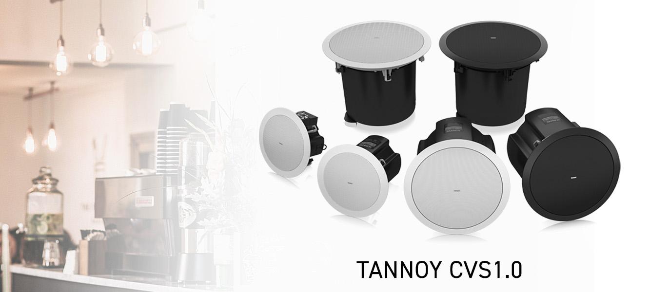 Nowa seria głośników sufitowych Tannoy CVS 1.0