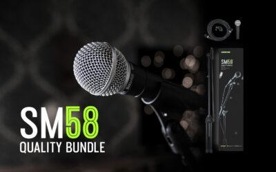 Shure SM58 Quality Bundle – Profesjonalne zestawy