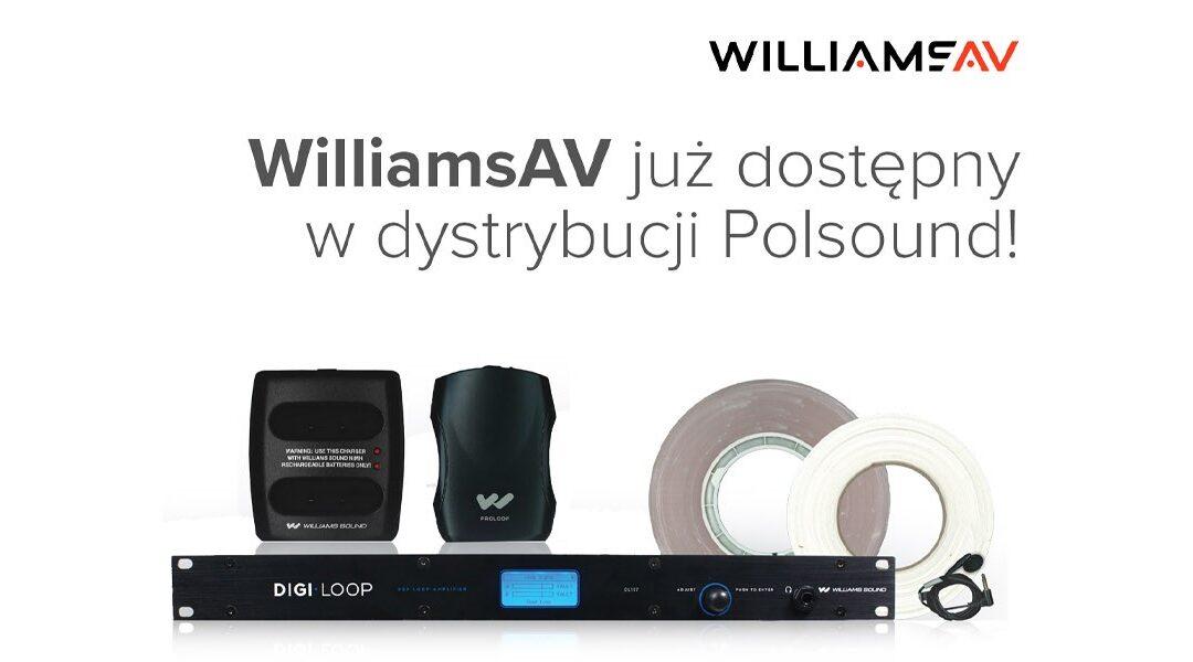 Williams AV w ofercie Polsound