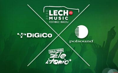 DiGiCo Quantum 338 naLech Festiwal Inaczej