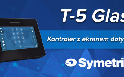 Nowy kontroler T-5 Glass od Symetrix