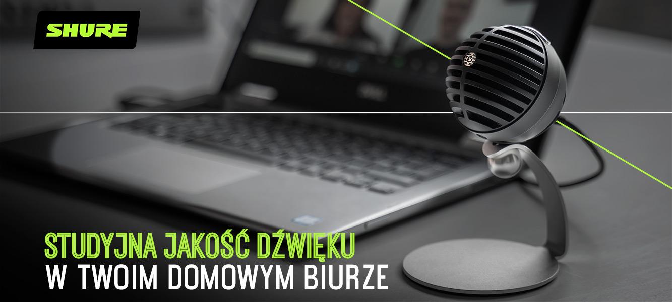 Shure MV5C – Studyjna jakość dźwięku wTwoim domowym biurze