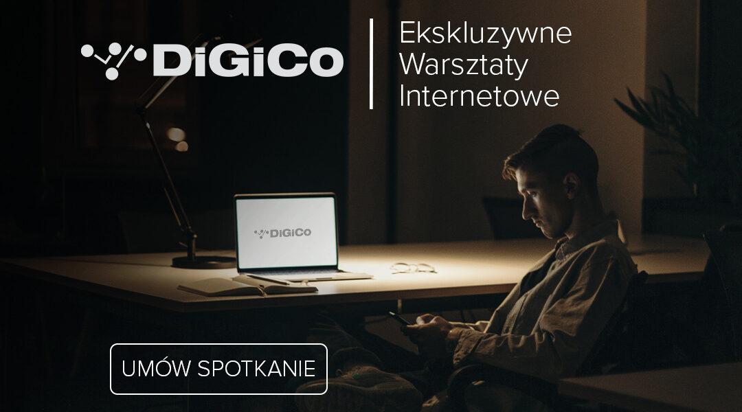 Ekskluzywne internetowe warsztaty DiGiCo: sam wybierz temat!