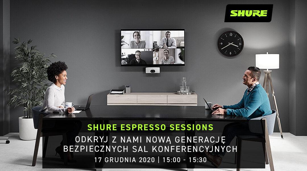 Odkryj nową generację bezpiecznych sal konferencyjnych zShure