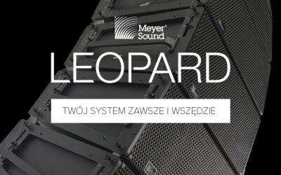 Meyer Sound rozszerza możliwość konfiguracji systemów nagłośnieniowych dzięki nowemu rozwiązaniu LEOPARD