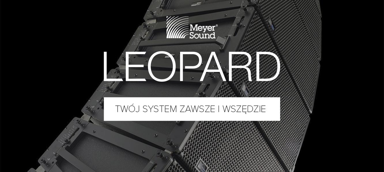 Meyer Sound wprowadza nowe rozwiązanie LEOPARD