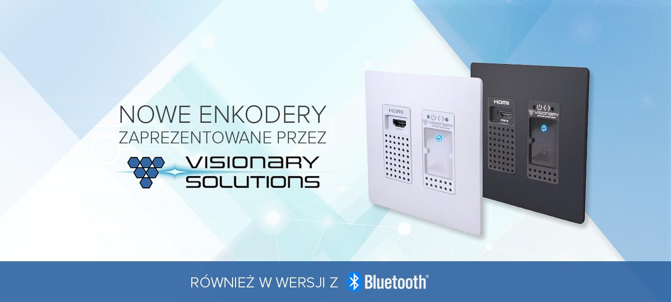 Nowe enkodery zaprezentowane przezVisionary Solutions