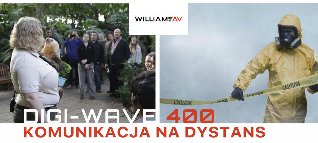 Williams AV Digi-Wave 400 – komunikacja nadystans
