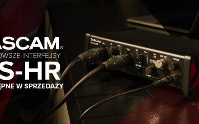 Interfejsy Tascam US-HR dostępne wsprzedaży
