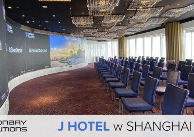 Visionary Solutions whotelu J wShanghai Tower