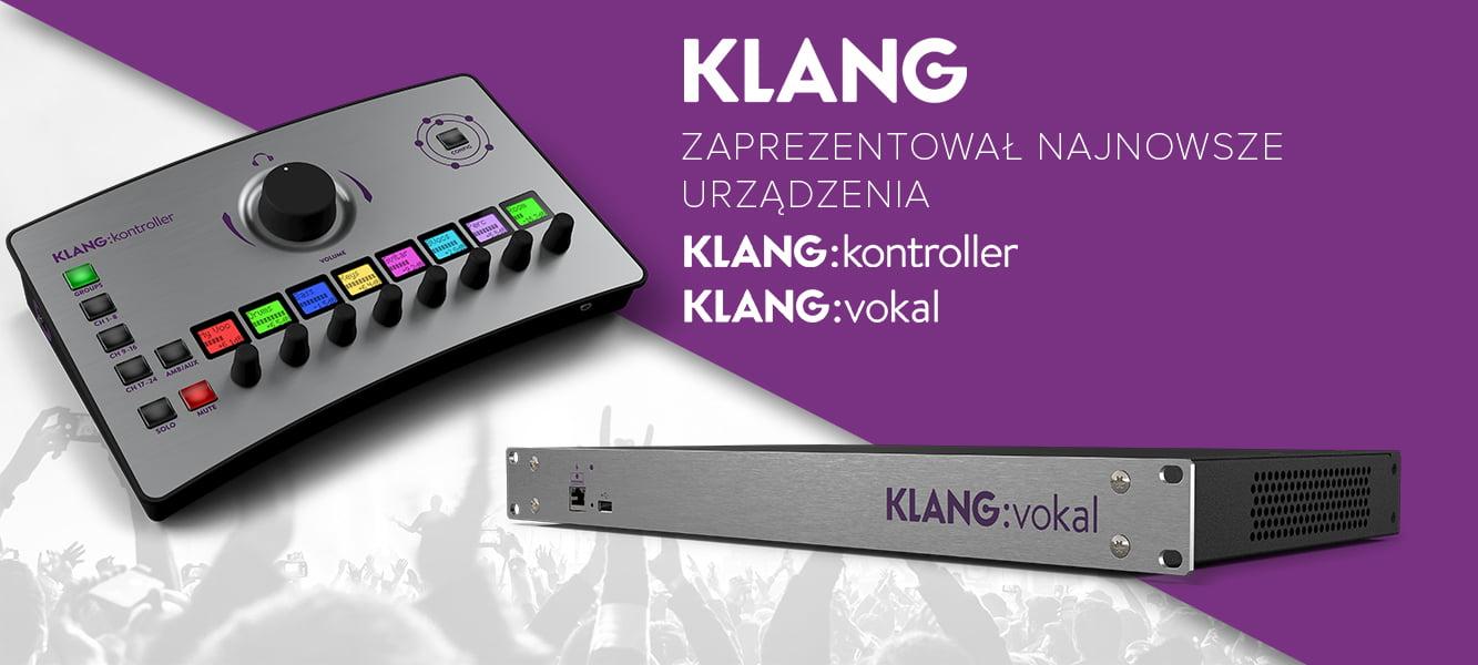 Klang zaprezentował najnowsze urządzenia
