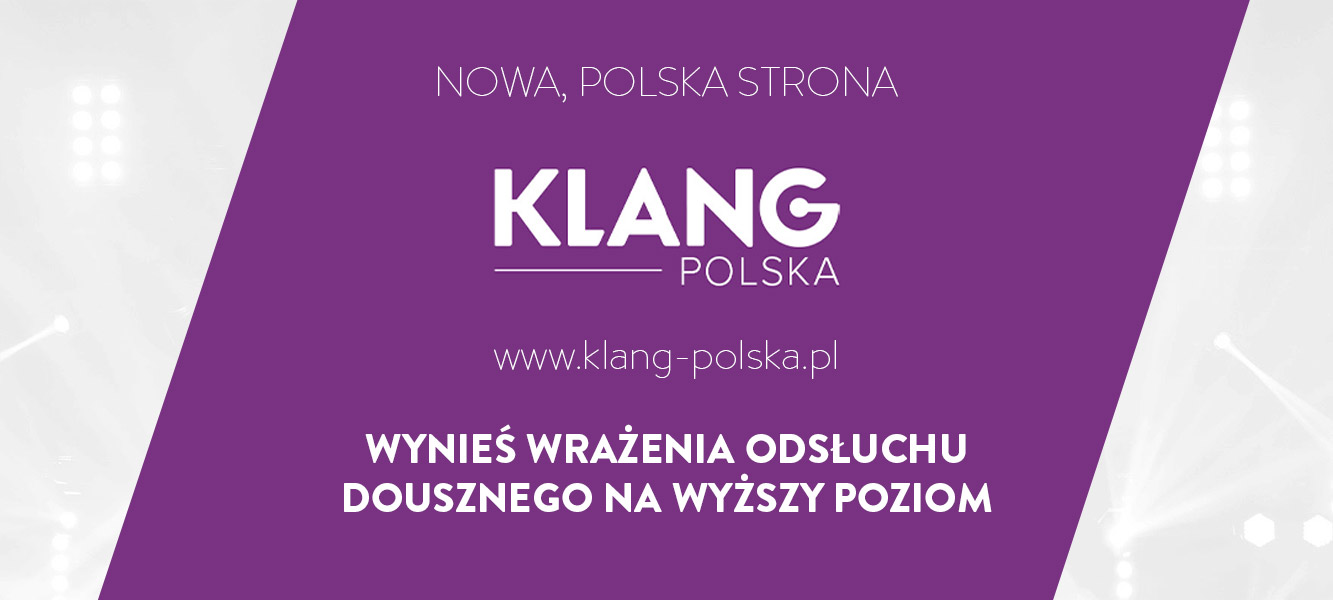 Nowa, polska strona marki KLANG