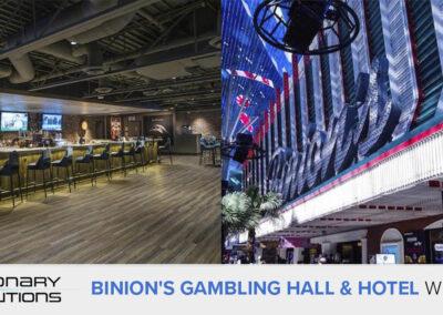 Sieć obsługi AV wBinion's Gambling Hall & Hotel