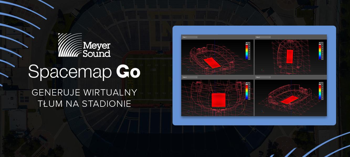 Meyer Sound Spacemap Go generuje wirtualny tłum nastadionie