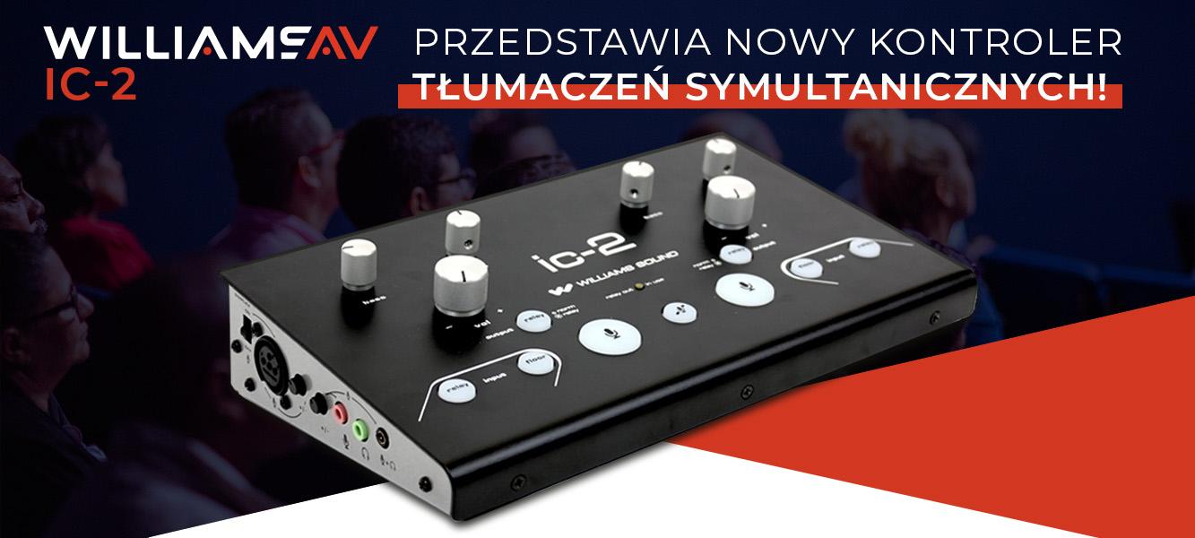 Williams AV przedstawia nowy kontroler tłumaczeń symultanicznych!