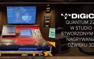 DiGiCo Quantum 225 wMetropolis Studios wLondynie
