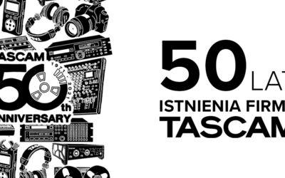 TASCAM obchodzi 50 lat istnienia